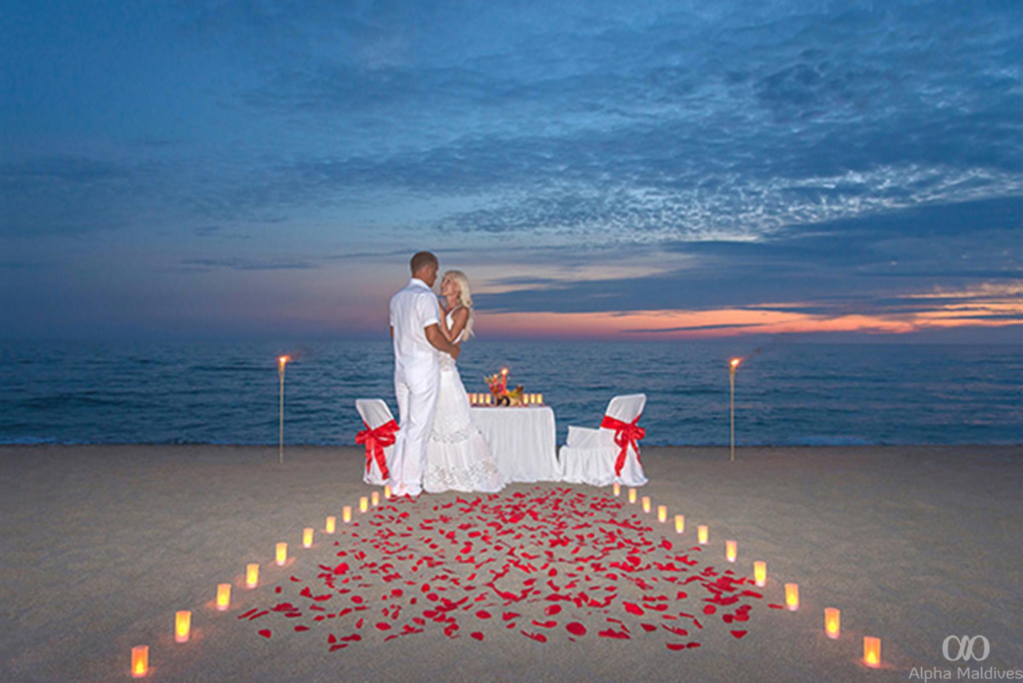 Устроить признание в любви парню на море