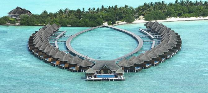 Taj Exotica Maldives awarded by TripAdvisor in 2016 Travellers' Choice Award
