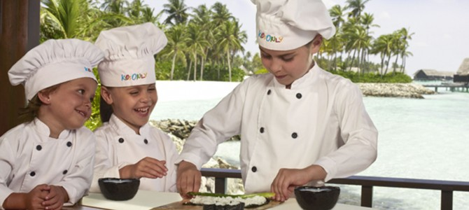 Kids Activities in the Maldives