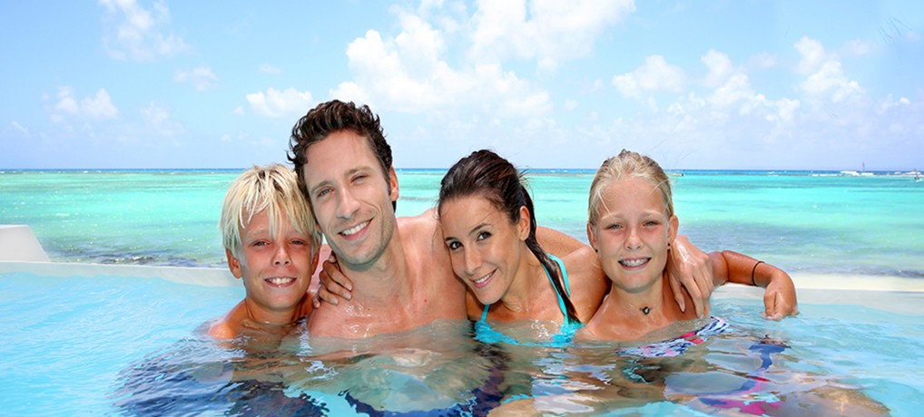 Family Summer Vacation in the Maldives