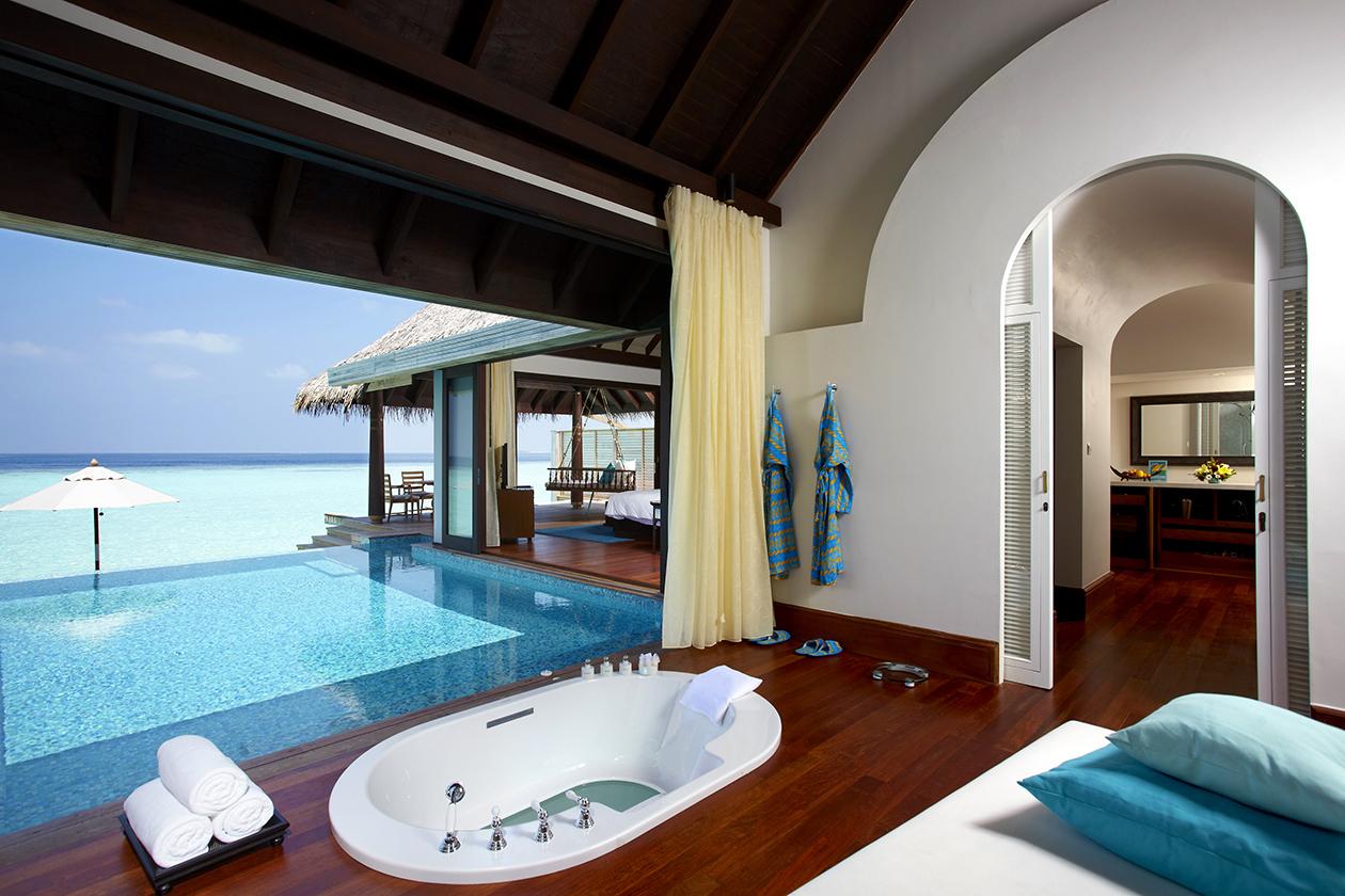Over Water Pool Villa bathroom